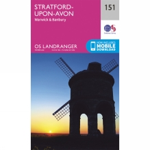 Landranger Map 151 Stratford-upon-Avon