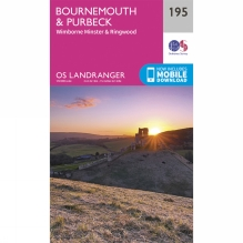 Landranger Map 195 Bournemouth and Purbeck