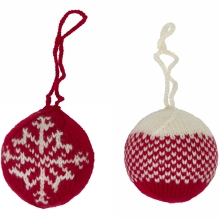 Christmas Baubles 2 Pack