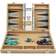 Worldly Wise Backgammon Set