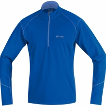 Mens Essential Thermo Zip Shirt LS