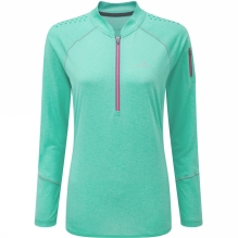 Womens Trail Long Sleeve Zip Tee