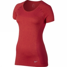 Womens Dri-Fit Knit Short Sleeve