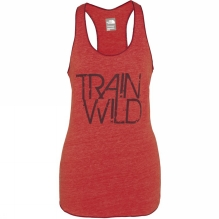 Womens Graphic Play Hard Tank