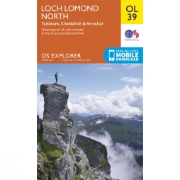 Explorer Map OL39 Loch Lomond North