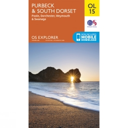 Explorer Map OL15 Purbeck and South Dorset