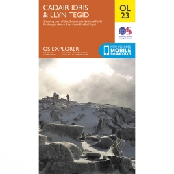 Explorer Map OL23 Cadair Idris and Bala Lake