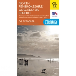 Explorer Map OL35 North Pembrokeshire