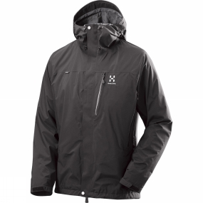 Haglofs Mens Astral III Jacket True Black Haglofs Mens Astral III Jacket True Black by Haglofs