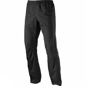 Salomon Salomon Men's Bonatti Waterproof Pants Black