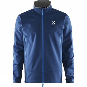 Haglofs Haglofs Mens Skarn Winter Jacket Hurricane Blue