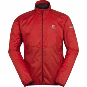 Salomon Salomon Mens Agile Jacket Matador-X / Victory Red