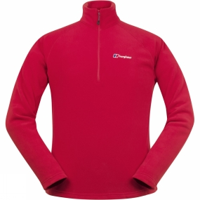 Berghaus Berghaus Mens Thirlmere 1/4 Zip Fleece Extrem Red