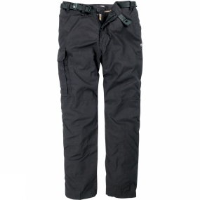 Craghoppers Craghoppers Mens Kiwi Winter Lined Trousers Black