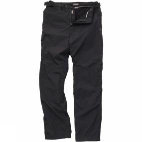 Craghoppers Craghoppers Mens Kiwi Winter Lined Trousers Black Pepper