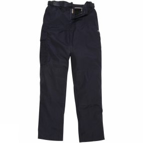 Craghoppers Craghoppers Mens Kiwi Winter Lined Trousers Dark Navy
