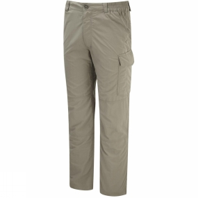 Craghoppers Craghoppers Mens NosiLife Cargo Trousers Pebble