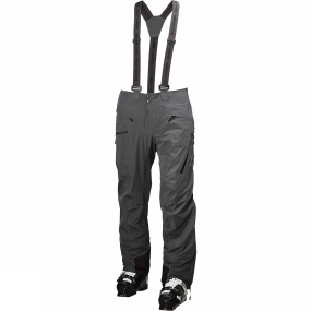 Helly Hansen Helly Hansen Mens Odin Mountain Pants Charcoal