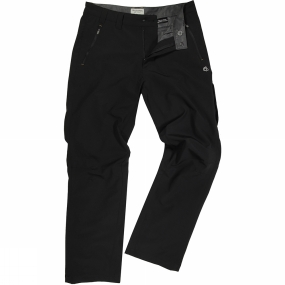 Craghoppers Craghoppers Mens Pro Lite Softshell Trousers Black