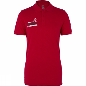 Helly Hansen Men's Crew Walking With The Wounded Polo Red