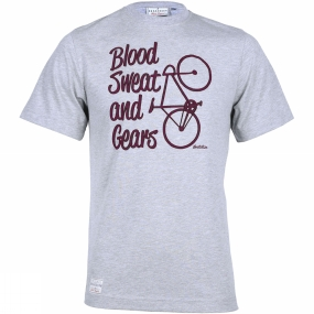 Mens Blood, Sweat and Gears Tee