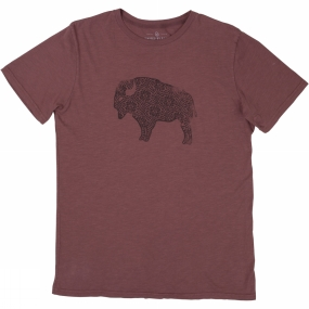 United By Blue Mens Ox Ideal Tee Red Rock