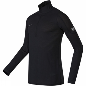 Mens Go Dry Zip Long Sleeve
