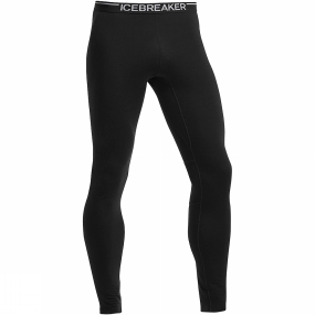 Icebreaker Icebreaker Mens Zone Leggings Black/Monsoon