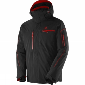 Salomon Salomon Mens Brilliant Jacket Black / Matador-X