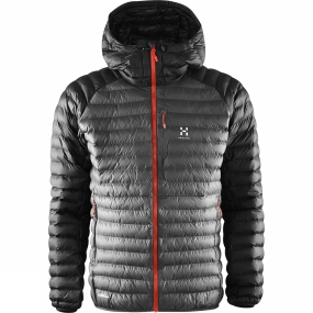 Haglofs Haglofs Mens Essens Mimic Hood Magnetite / True Black