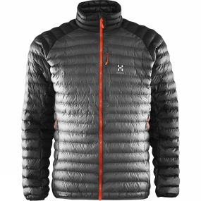 Haglofs Haglofs Mens Essens Mimic Jacket Magnetite / True Black
