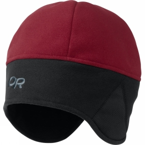 Outdoor Research Mens Windwarrior Hat Retro Red -Black