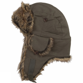 Ayacucho Winter Trapper Hat Olive