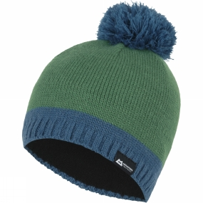 Mountain Equipment Chunky Pom Hat Lime Green/Nautilus