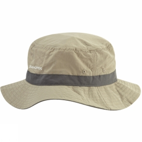 Craghoppers NosiLife Sun Hat Pebble/Black Pepper
