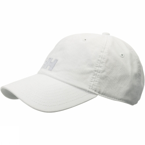 Helly Hansen Logo Cap White