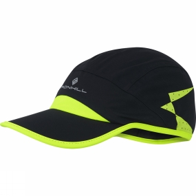 Ronhill Storm Cap Black/Fluo Yellow