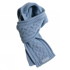 Life is Good LiS Polar Cable Scarf Lt Blue