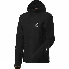 Haglofs Haglofs Womens L.I.M Q Flex Hood True Black