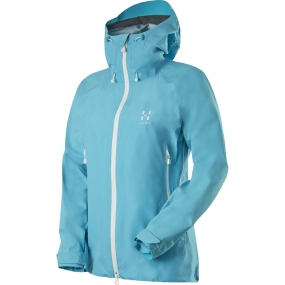 Haglofs Haglofs Womens Roc Spirit Q Jacket Bluebird