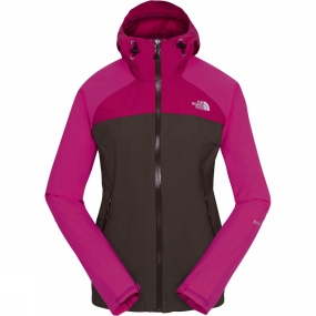 The North Face The North Face Womens Stratos Jacket New Taupe Green