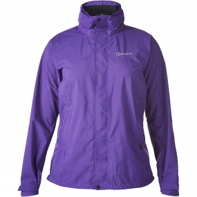 Berghaus Berghaus Womens Light Hike Hydroshell Jacket Tillandsia Purple