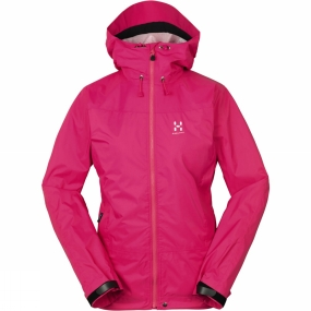 Haglofs Haglofs Womens Eclipse Q Jacket Cosmic Pink