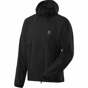 Haglofs Haglofs Womens Viper Q II Hooded Jacket True Black