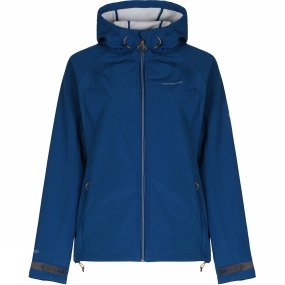 Craghoppers Craghoppers Womens Lena Hooded Softshell Jacket Deep Marine