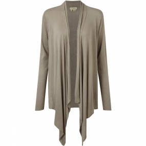 Royal Robbins Womens Lindsey Wrap Cardie Light Taupe
