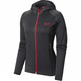 Womens Desna Grid Hooded Jacket