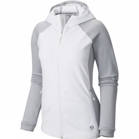 Mountain Hardwear Mountain Hardwear Women's Pyxis Stretch Hooded Jacket White / Steam