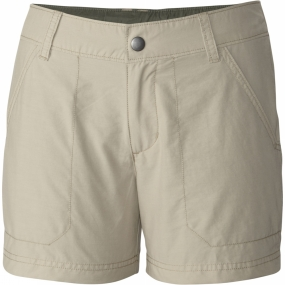 Columbia Womens Arch Cape III Shorts Fossil