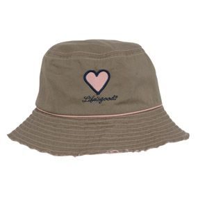 Life is Good LiS Womens Tattered Bucket Hat Artichoke